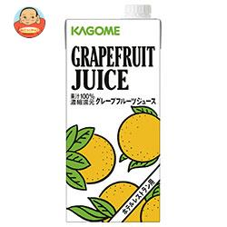 カゴメ グレープフルーツジュース(ホテルレストラン用) 1L紙パック×12(6×2)本入