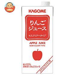 カゴメ りんごジュース(ホテルレストラン用) 1L紙パック×12(6×2)本入
