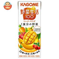 カゴメ 野菜生活100 フルーティーサラダ 200ml紙パック×24本入
