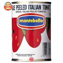 モンテ物産 モンテベッロ ホールトマト 400g缶×24個入