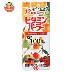 富永貿易 ビタミンパーラー 200ml紙パック×24(12×2)本入