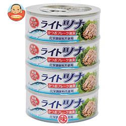 富永貿易 富永貿易 かつおフレーク缶詰 80g缶×48(4P×12)個入