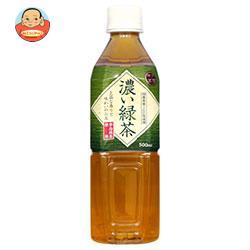 富永貿易 神戸茶房 濃い緑茶 500mlペットボトル×24本入