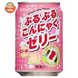 富永貿易 フェリーチェ ぷるぷるこんにゃくゼリー ピーチ 280g缶×24本入