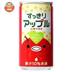 富永貿易 神戸居留地 すっきりアップル 185g缶×30本入