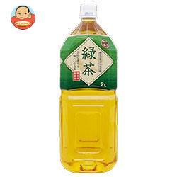 富永貿易 神戸茶房 緑茶 2Lペットボトル×6本入