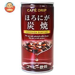 富永貿易 カフェドリップ ほろにが炭焼 185g缶×30本入