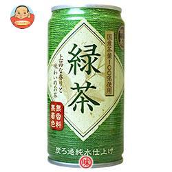 富永貿易 神戸茶房 緑茶 185g缶×30本入