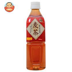 富永貿易 神戸茶房 麦茶 500mlペットボトル×24本入