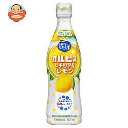 カルピス カルピス(CALPIS) シチリア産レモン 470mlプラスチックボトル×12本入