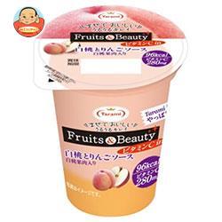 たらみ Fruits&Beauty ビタミンC in 白桃とりんごソース 165g×18(6×3)個入