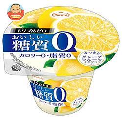 たらみ トリプルゼロ おいしい糖質0 グレープフルーツ 195g×18(6×3)個入
