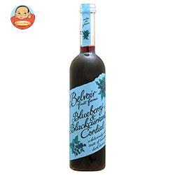 ユウキ食品 コーディアル ブルーベリー&ブラックカラント 500ml瓶×6本入