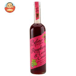 ユウキ食品 コーディアル ラズベリー&レモン 500ml瓶×6本入