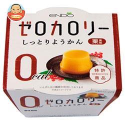遠藤製餡 ゼロカロリー しっとりようかん 栗風味 90g×24個入