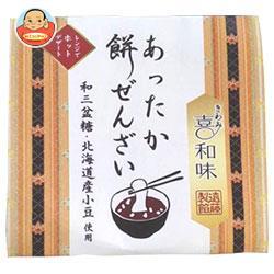 遠藤製餡 あったか餅ぜんざい 140g×24(6×4)個入