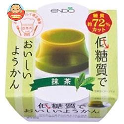 遠藤製餡 低糖質でおいしいようかん 抹茶 90g×24個入