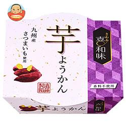 遠藤製餡 喜和味 芋ようかん 120g×24(6×4)個入