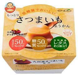 遠藤製餡 低糖質でおいしい さつまいもようかん 90g×24(6×4)個入