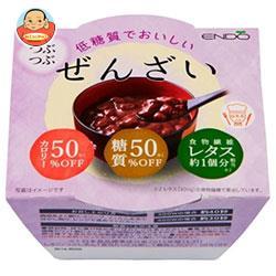 遠藤製餡 低糖質でおいしい つぶつぶぜんざい 75g×24(6×4)個入