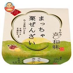 遠藤製餡 喜和味 まっちゃ栗ぜんざい 170g×24個入