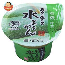 遠藤製餡 あんこ屋さんの水ようかん 有機 抹茶 100g×24個入