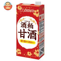 メロディアン 酒粕甘酒【赤ラベル】 1000ml紙パック×12(6×2)本入