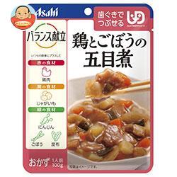 アサヒグループ食品 バランス献立 鶏とごぼうの五目煮 100g×24個入