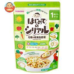 和光堂 はじめてのシリアル 6種の緑黄色野菜 40g×12袋入