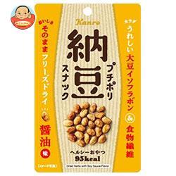 カンロ プチポリ納豆 しょうゆ味 18g×12(6×2)袋入