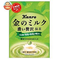 カンロ 金のミルクキャンディ 抹茶 70g×6袋入