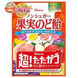 カンロ ノンシュガー果実のど飴 90g×6袋入