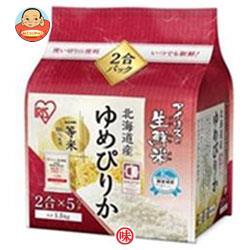 アイリスオーヤマ 生鮮米 北海道産ゆめぴりか 1.5kg×4袋入