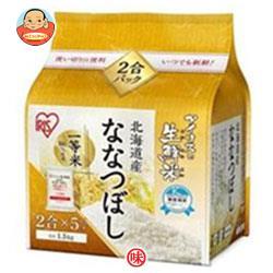 アイリスオーヤマ 生鮮米 北海道産ななつぼし 1.5kg×4袋入