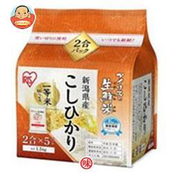 アイリスオーヤマ 生鮮米 新潟こしひかり 1.5kg×4袋入