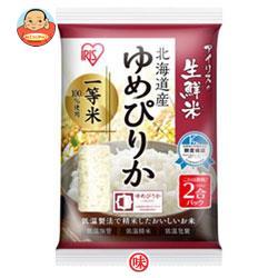 アイリスオーヤマ 生鮮米 北海道産ゆめぴりか 2合パック 300g×30袋入