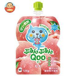 コカコーラ ミニッツメイド ぷるんぷるんQoo(クー) もも 125gパウチ×30本入