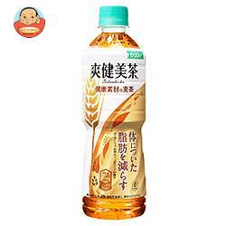 コカコーラ 爽健美茶 健康素材の麦茶【機能性表示食品】 600mlペットボトル×24本入