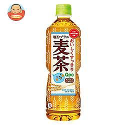 コカコーラ ミニッツメイド Qoo(クー)  塩分プラス麦茶 600mlペットボトル×24本入