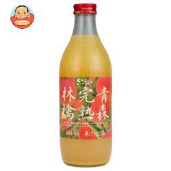 青森県りんごジュース シャイニー 青森完熟林檎 1L瓶×6本入
