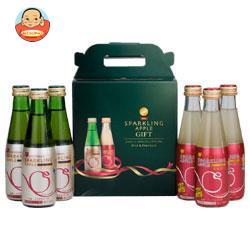 青森県りんごジュース シャイニーギフトセット SP-8W 200ml瓶×6本×6箱入