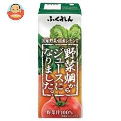 ふくれん 野菜畑からジュースになりました。 200ml紙パック×24本入