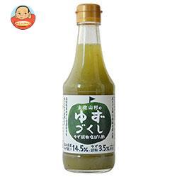 旭フレッシュ 土佐山村のゆずづくし ゆず胡椒塩ぽん酢 160g瓶×12本入