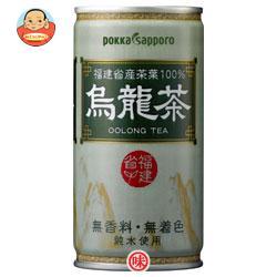 ポッカサッポロ 烏龍茶 190g缶×30本入
