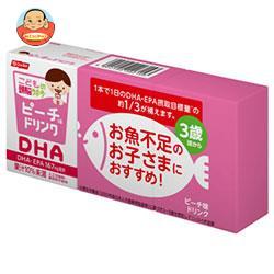 ニッスイ こどもの頭脳サポーター DHA ピーチ味 100ml紙パック×24(3P×8)本入
