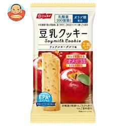 ニッスイ EPA+(エパプラス)サクサク豆乳クッキー アップルヨーグルト味 2本(27g)×48(12×4)袋入