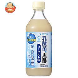 ヤマモリ 乳酸菌黒酢 ヨーグルト味 500ml瓶×6本入