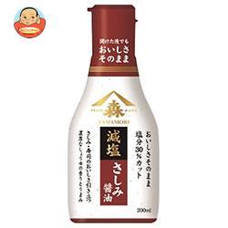 ヤマモリ おいしさそのまま減塩さしみ醤油 200mlペットボトル×12本入