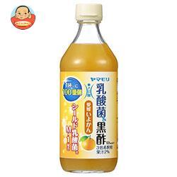 ヤマモリ 乳酸菌黒酢 愛媛いよかん 500ml瓶×6本入
