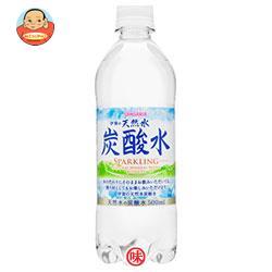 サンガリア 伊賀の天然水 炭酸水 500mlペットボトル×24本入
